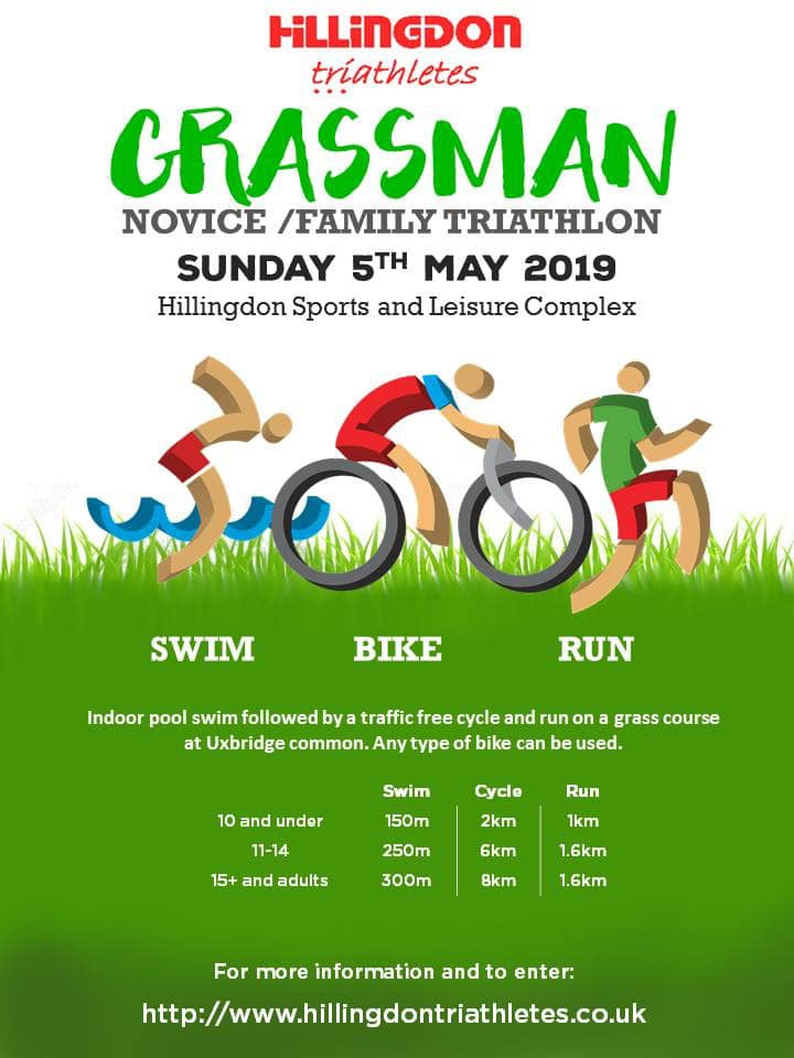 Event - Grassman Triathlon 5th May 2019
